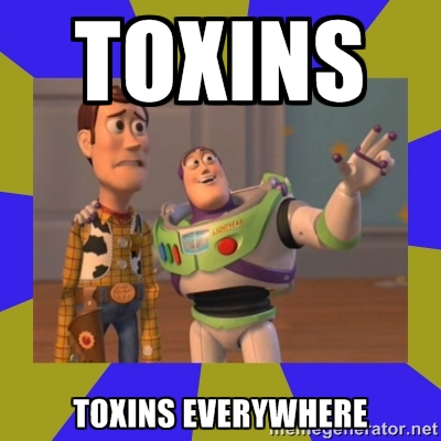 toy story meme, toxins everywhere